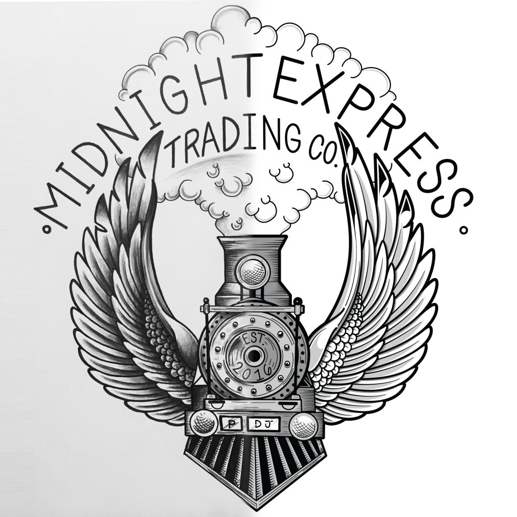 Midnight Express Trading Co Vector illustration