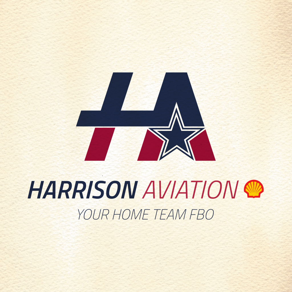 harrison aviation logo design