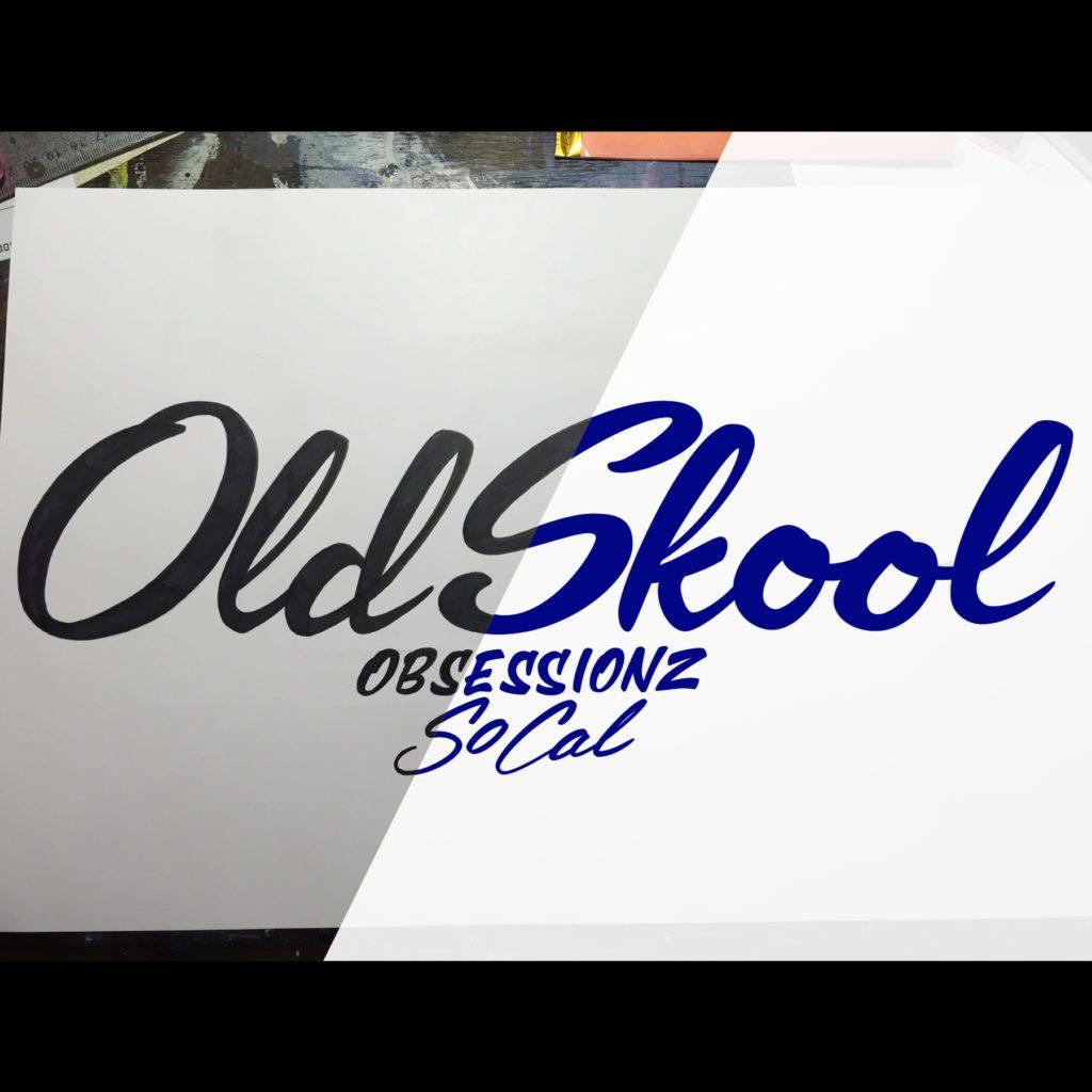 oldskool obsessionz logo vector process